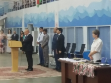 Opening of the Republican Championship of the Republic of Tajikistan on swimming in Khujand