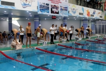 Awarding of the winners of the republican swimming tournament in the Sughd region